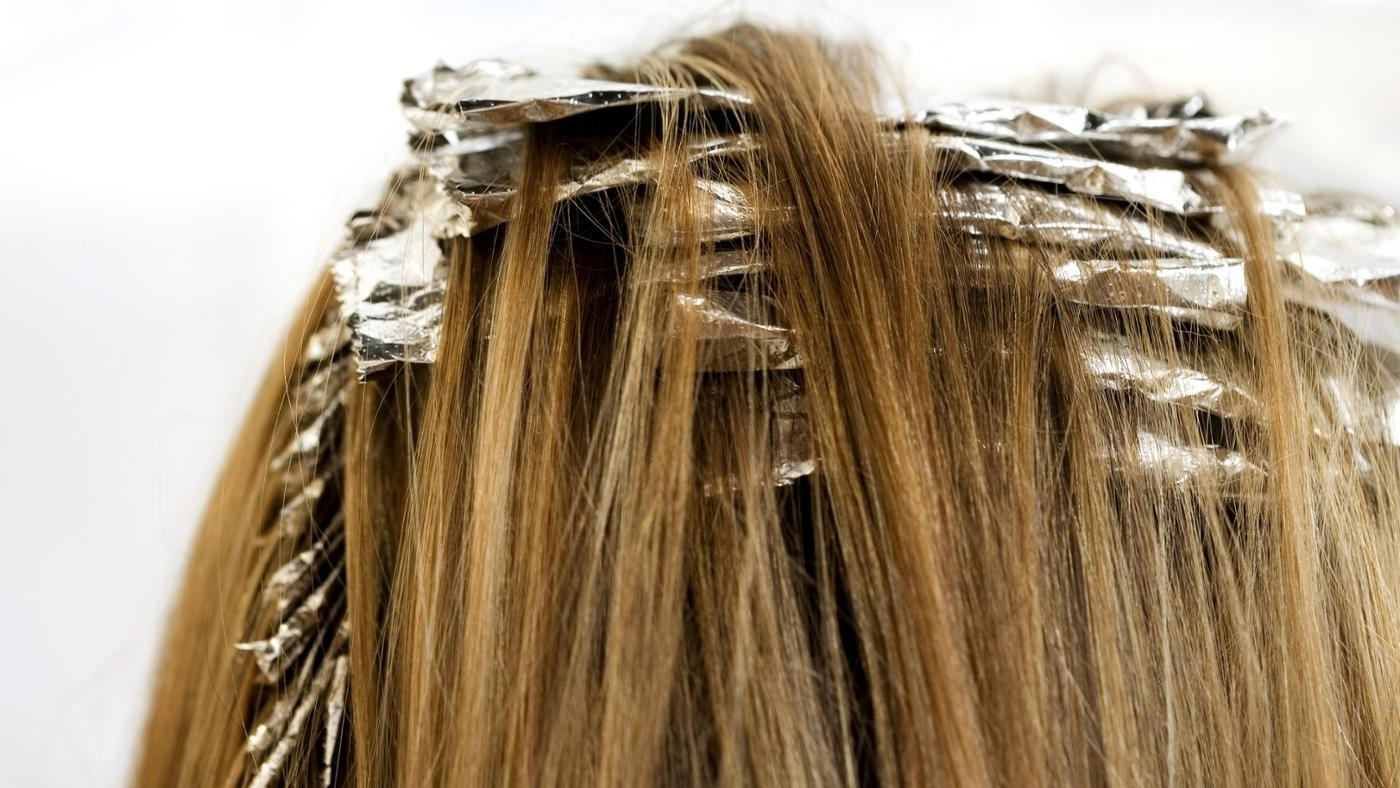 Highlighting Foil For Coloring Hair New Boxed With Cutter Aluminium