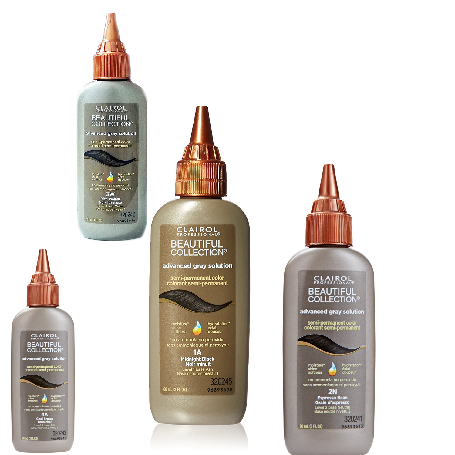 Clairol Professional Beautiful Collection Advanced Gray Solution