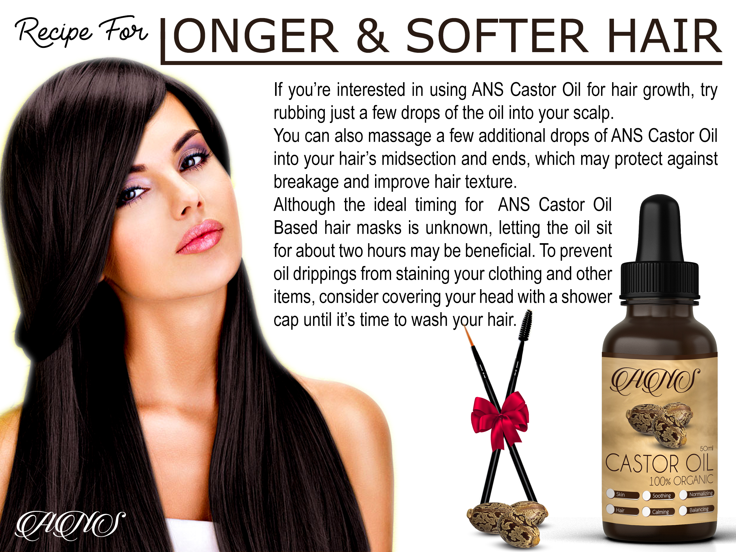9c621aa4118 100% Organic Cold Pressed Castor Oil for Eyelashes Eyebrows Growth free  Applicat