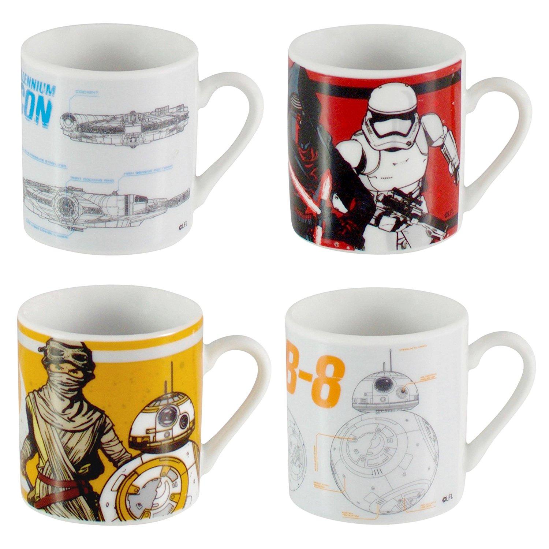 Sentinel Star Wars Espresso Latte Cups Ceramic Drinking Tea Coffee Gift Set Cup Mug 40ml