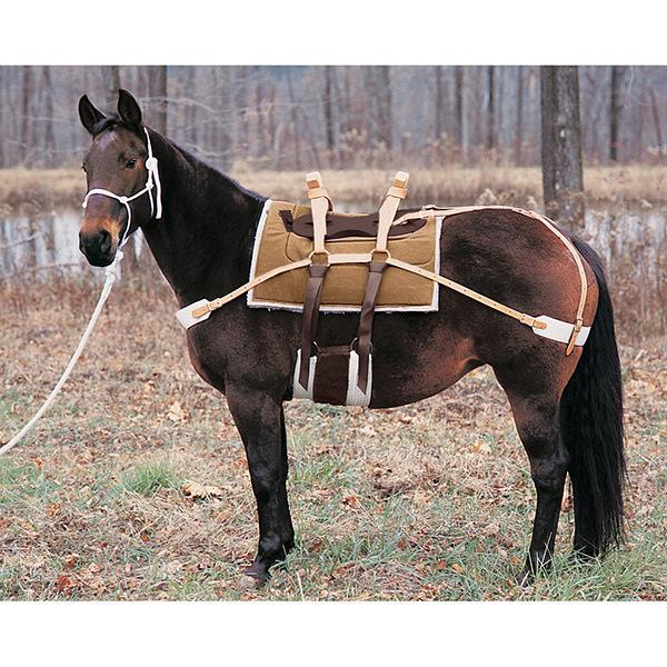 "miniature sawbuck cinchas 20/"" Leather Cinch Mini Donkey Horse Pack saddle"