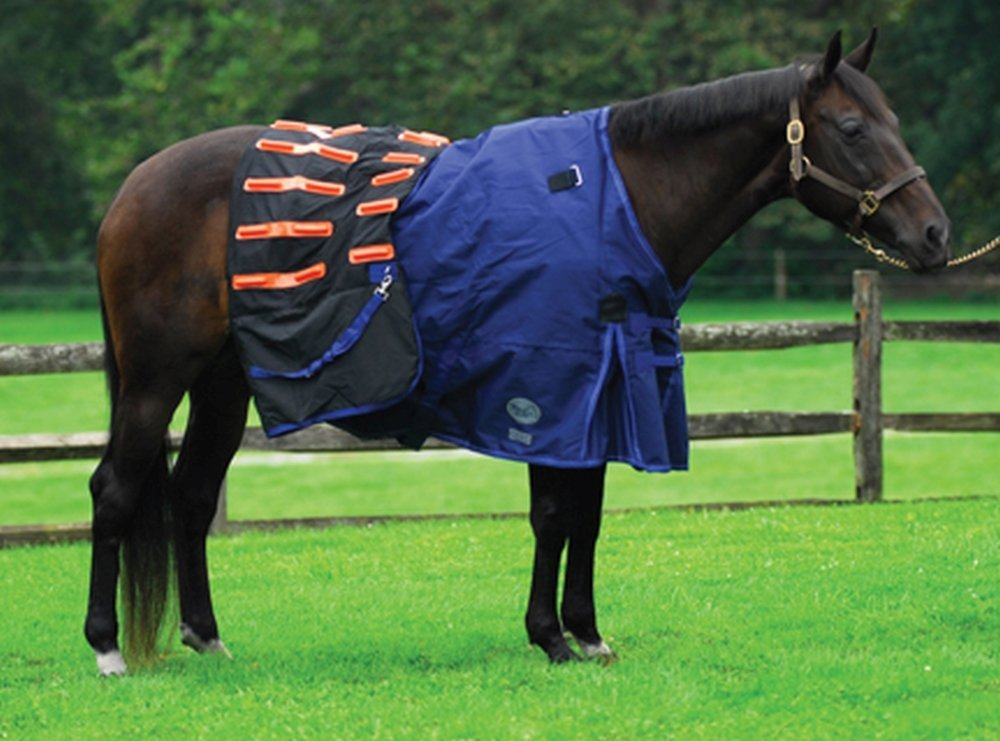 Winter Horse Blankets >> Details About Macs Equine New Cool Heat Winter Combo Heating Blanket 1200d Waterproof