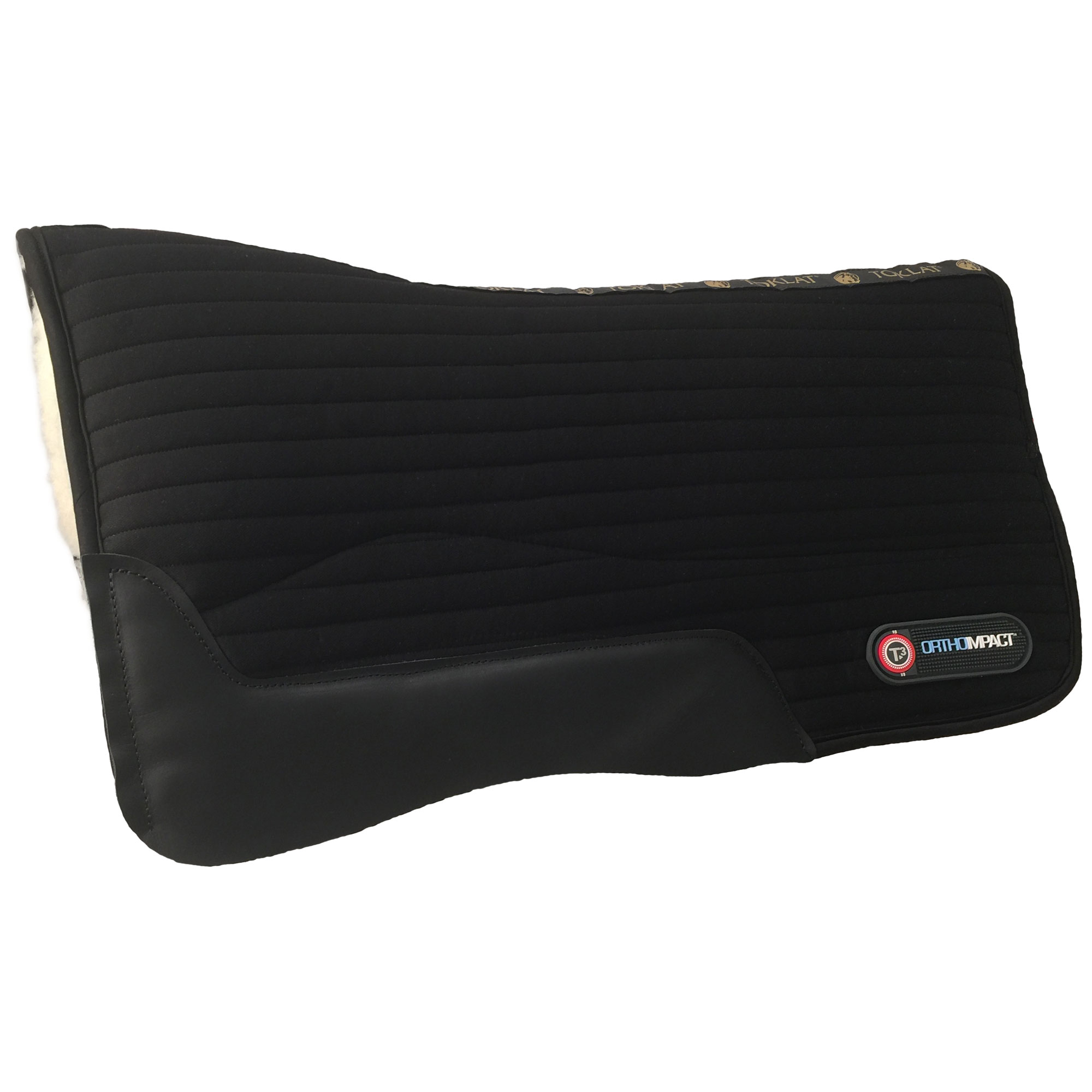 Toklat T3 Matrix Shim WoolBack Western Saddle Pad with Impact Inserts