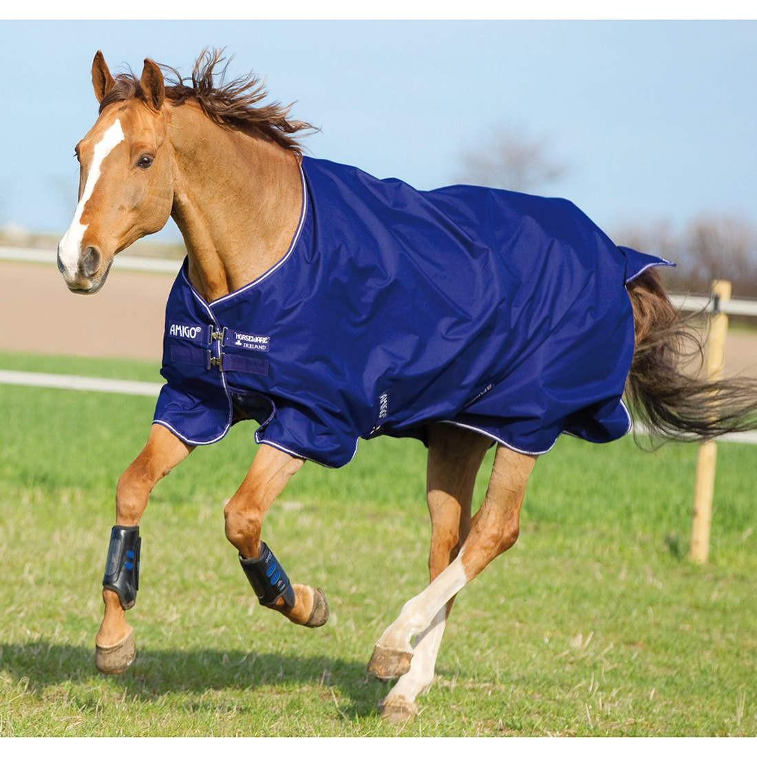 Sentinel Horseware Ireland Amigo Hero 600d Lite Turnout Blanket With Leg Arches