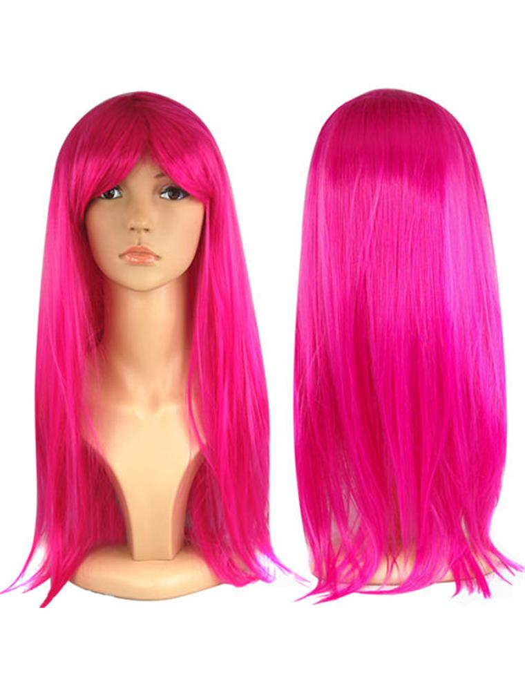 Womens-Ladies-Long-Straight-Fancy-Dress-Full-Hair-Clip-Wig-Costume-Cosplay-Party