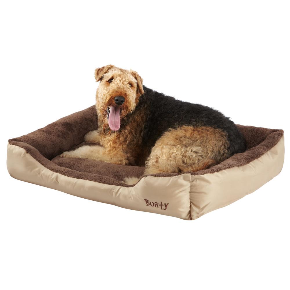 Bunty Deluxe Soft Washable Dog Pet Warm Basket Bed Cushion ...