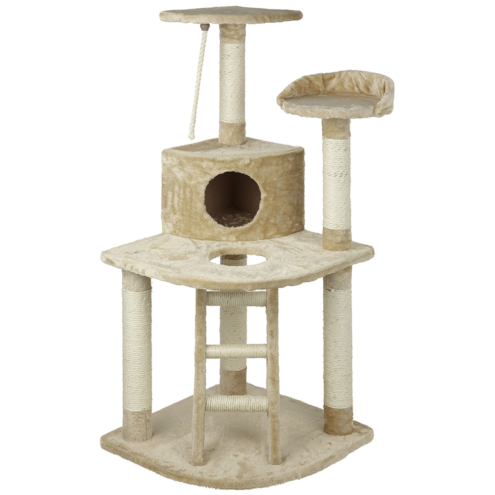 Large Cat Kitten Tree Activity Centre Scratch Scratching Post ...