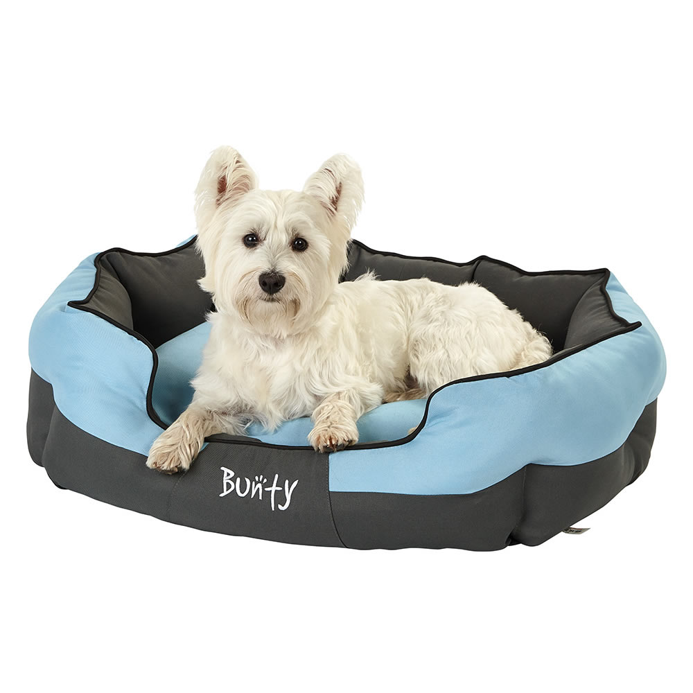 bunty anchor soft dog bed waterproof washable hardwearing pet basket mat cushion ebay. Black Bedroom Furniture Sets. Home Design Ideas