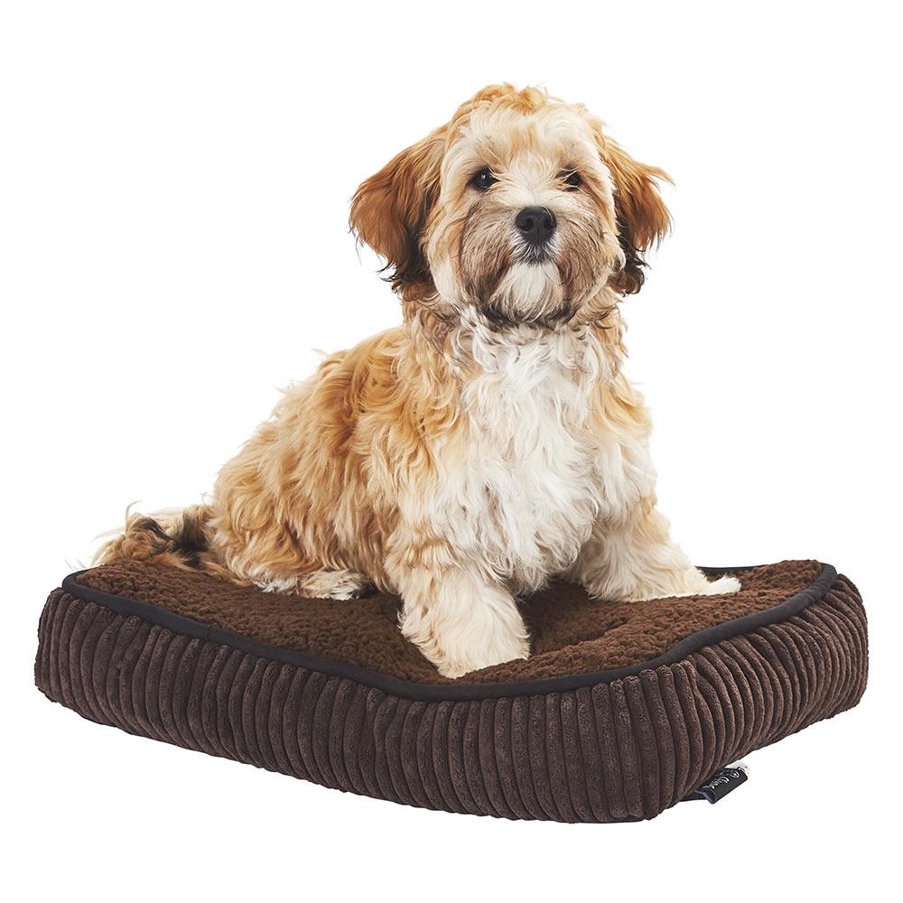 Bunty Snooze Soft Fur Fleece Dog Bed