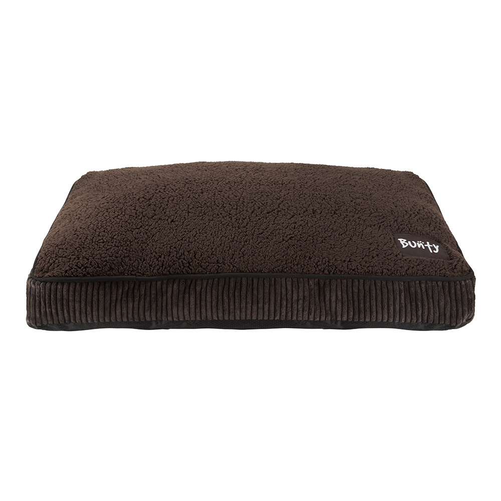 Bunty Snooze Soft Fur Fleece Dog Bed Pet Basket Mat