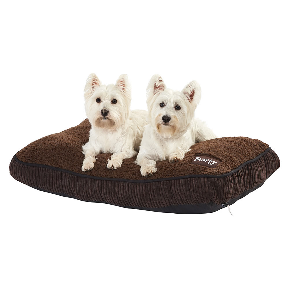 bunty snooze soft fur fleece dog bed pet basket mat cushion pillow mattress ebay. Black Bedroom Furniture Sets. Home Design Ideas
