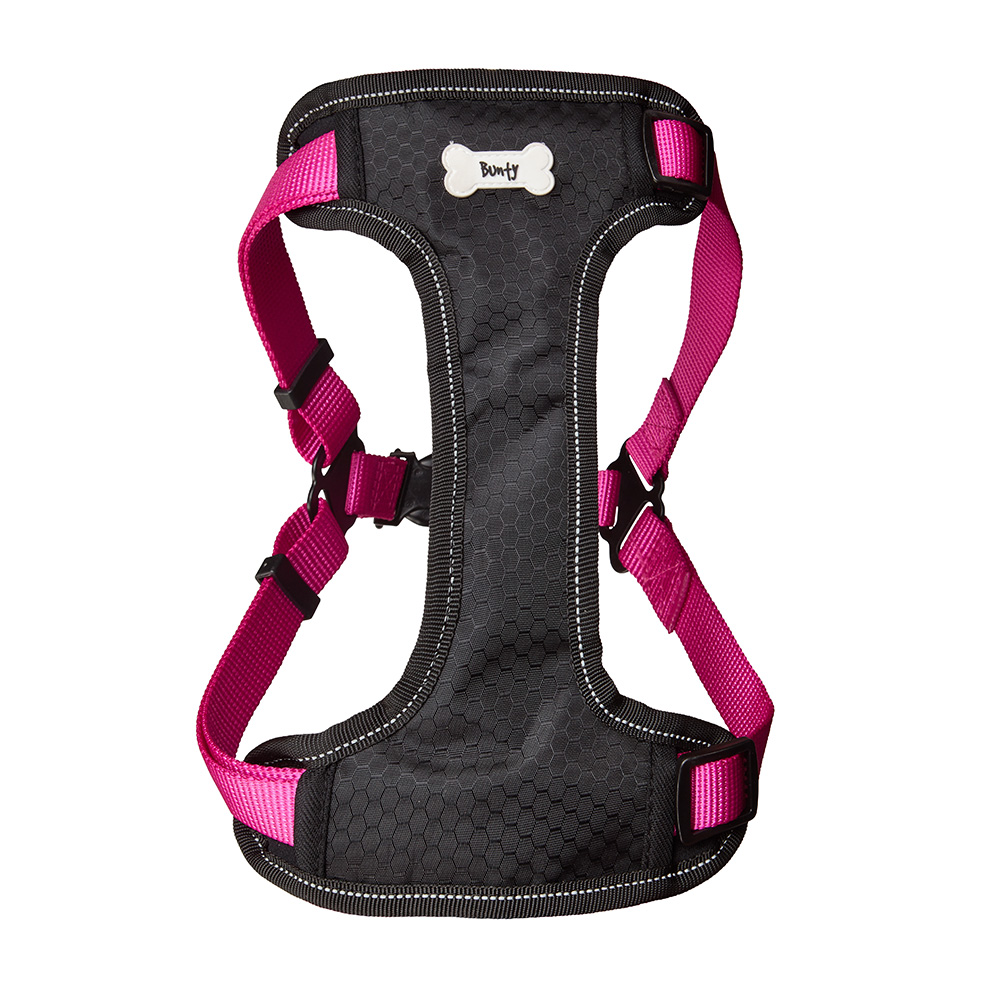 Bunty-Soft-Comfortable-Breathable-Fabric-Dog-Puppy-Pet-Adjustable-Harness-Vest thumbnail 23