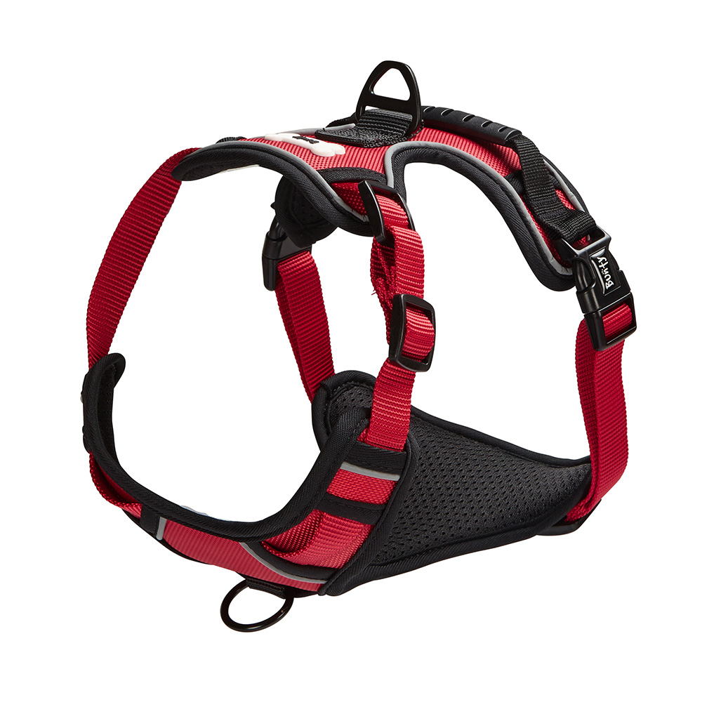 Bunty-Soft-Padded-Comfortable-Fabric-Dog-Puppy-Pet-Adjustable-Outdoor-Harness thumbnail 22
