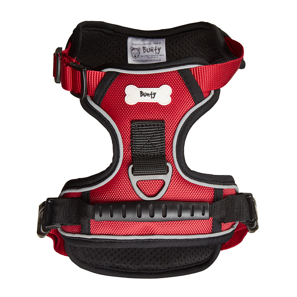 Bunty-Soft-Padded-Comfortable-Fabric-Dog-Puppy-Pet-Adjustable-Outdoor-Harness thumbnail 24