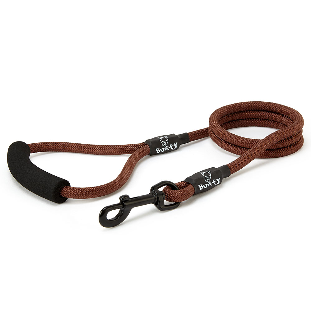 Bunty-Strong-Nylon-Rope-Dog-Puppy-Pet-Lead-Leash-with-Clip-for-Collar-Harness