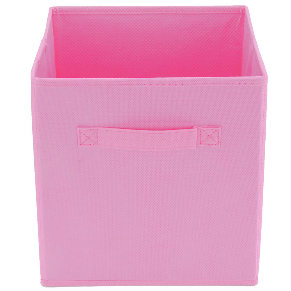 Sentinel Foldable Square Fabric Storage Box Drawer Toys Books Clothes  Folding Organiser