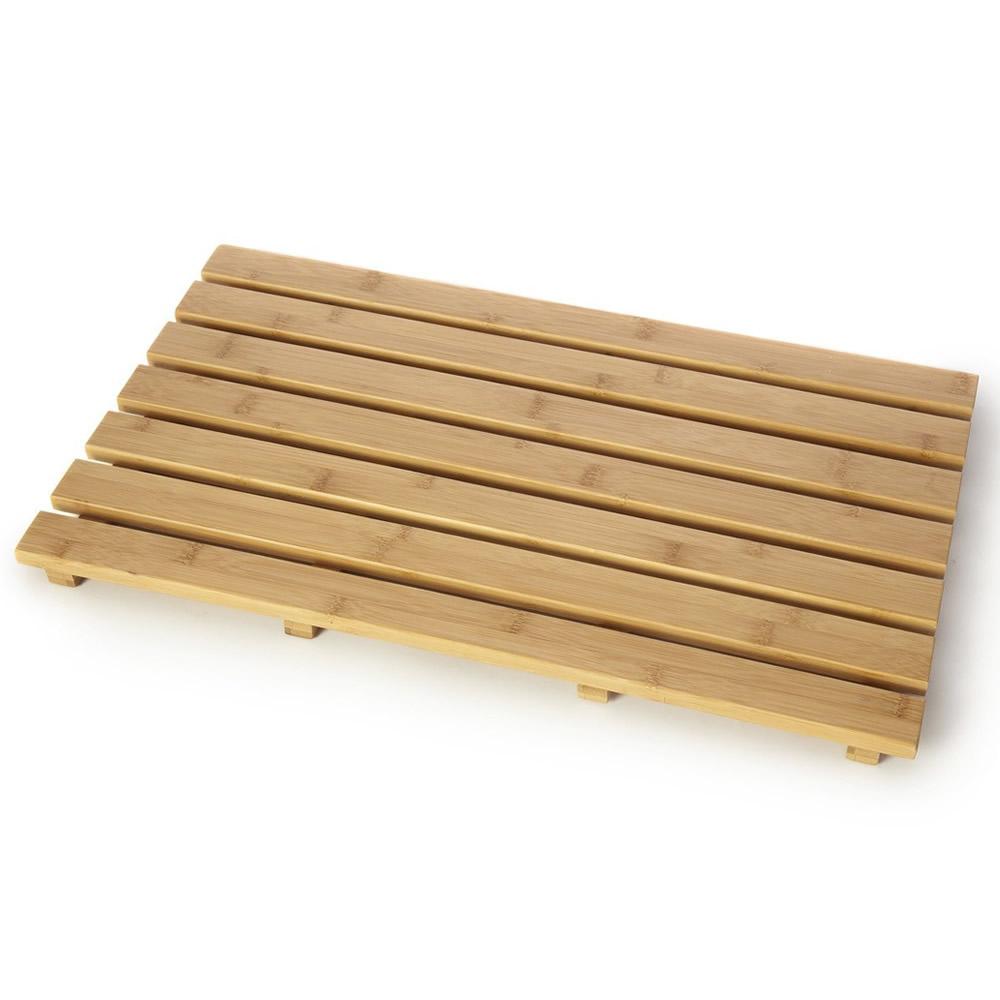 Wooden Duckboard Natural Wood Bathroom Bath Shower Anti