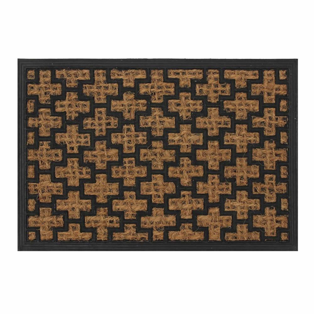 Natural Coir Rubber Non Slip Doormat Floor Entrance Door Mat
