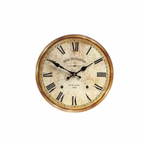 30cm vintage style home wall clock interior decor kitchen for Ebay vintage arredamento