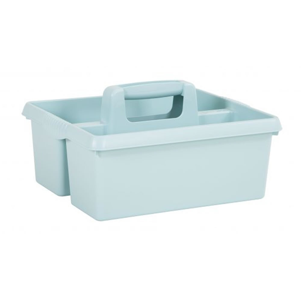 Large Plastic Kitchen Cleaning Carry Tray Caddy Tidy Tote Organiser ...
