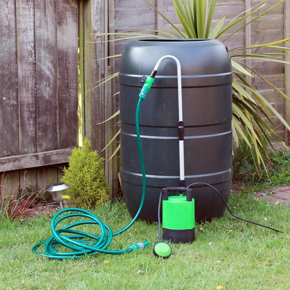 Submersible Electric Water Butt Pump Garden Hose Watering