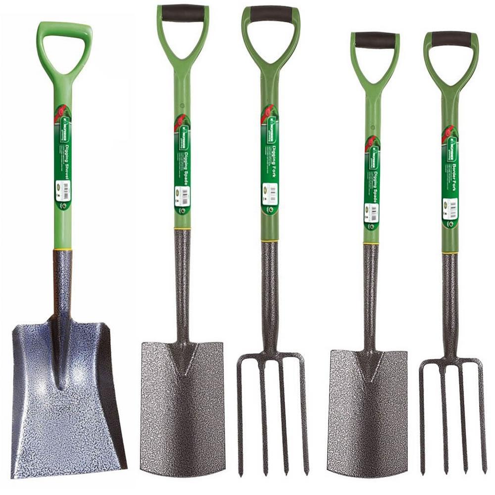 Heavy duty steel garden gardening tools digging boarder for Heavy duty garden tools