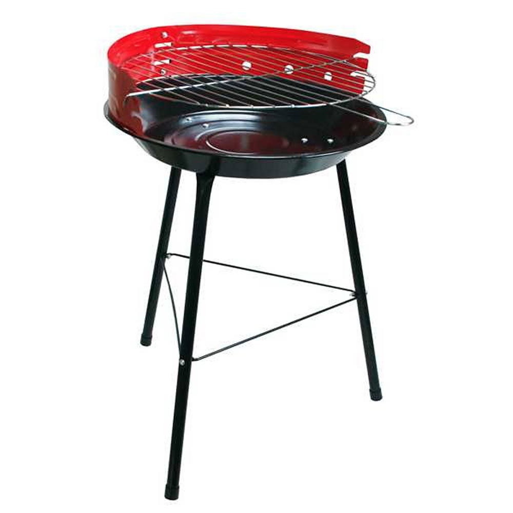 Details About 14 Round Bbq Barbecue Garden Patio Cooking Portable Charcoal Coal Grill