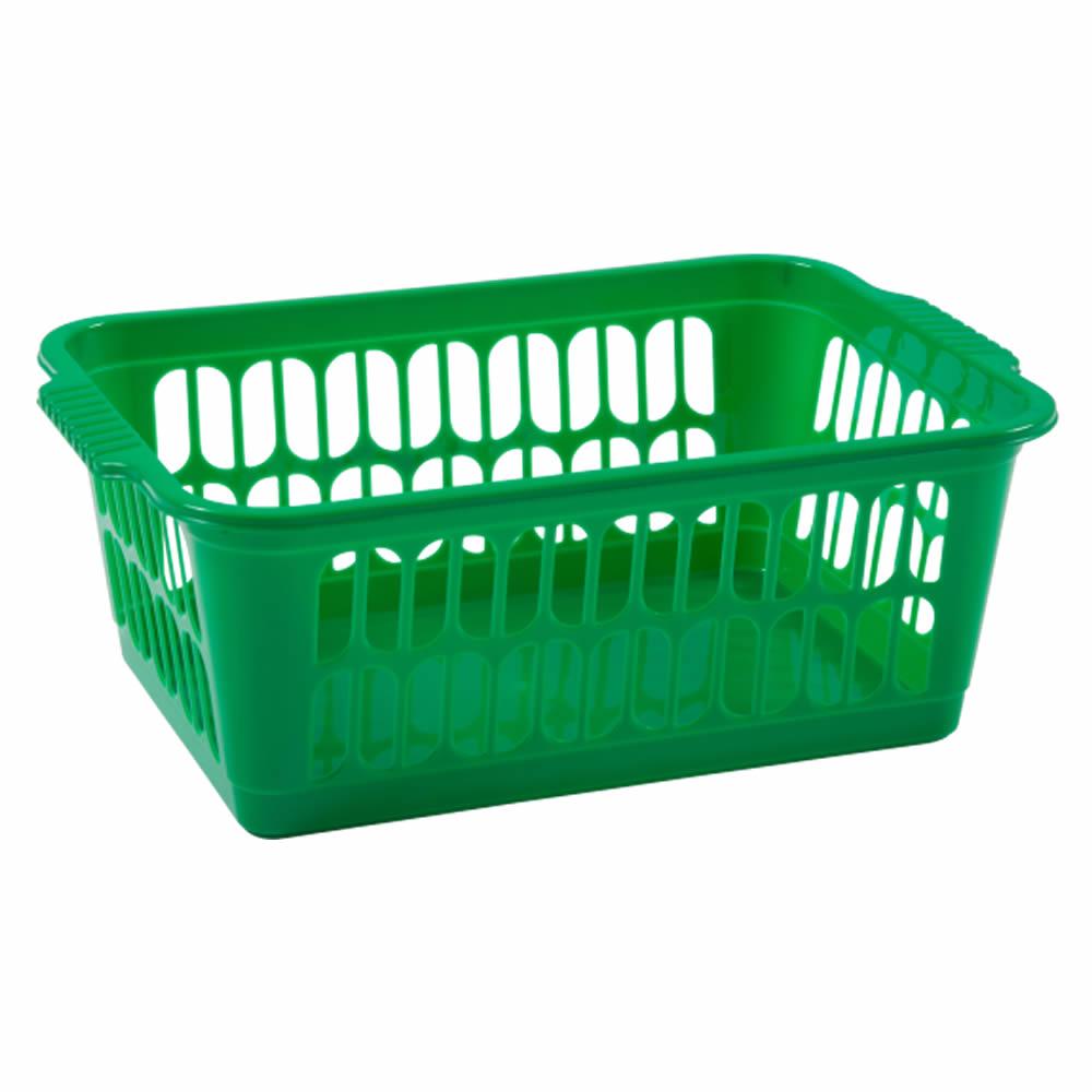 Rectangle-Home-House-Kitchen-Office-Study-Plastic-Storage-Basket-Box-Sizes-S-M-L thumbnail 17