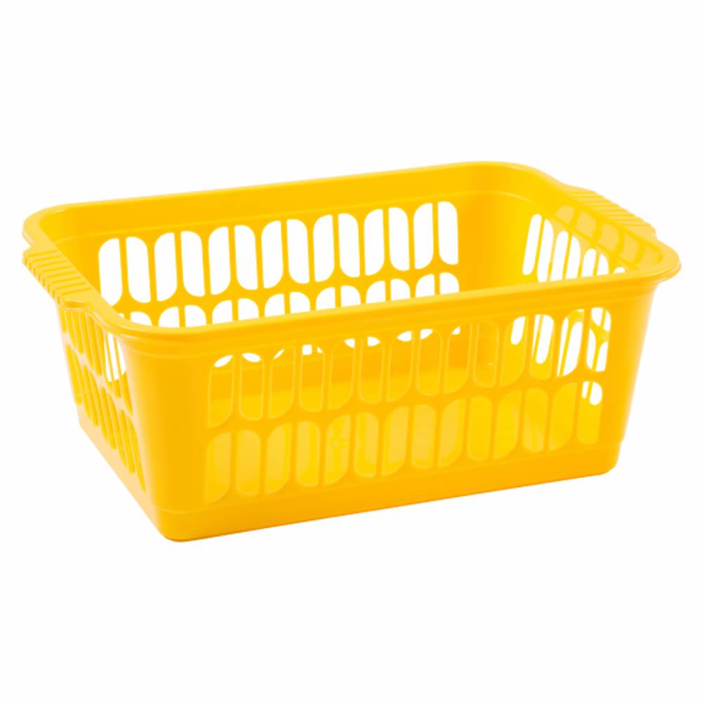 Rectangle-Home-House-Kitchen-Office-Study-Plastic-Storage-Basket-Box-Sizes-S-M-L thumbnail 23