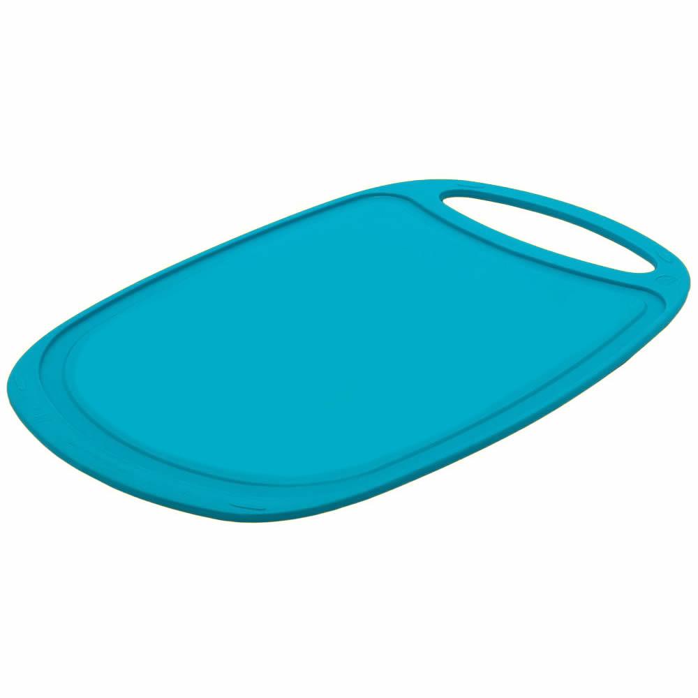 35cm Plastic Chopping Cutting Board Kitchen Cutting Worktop Saver ...
