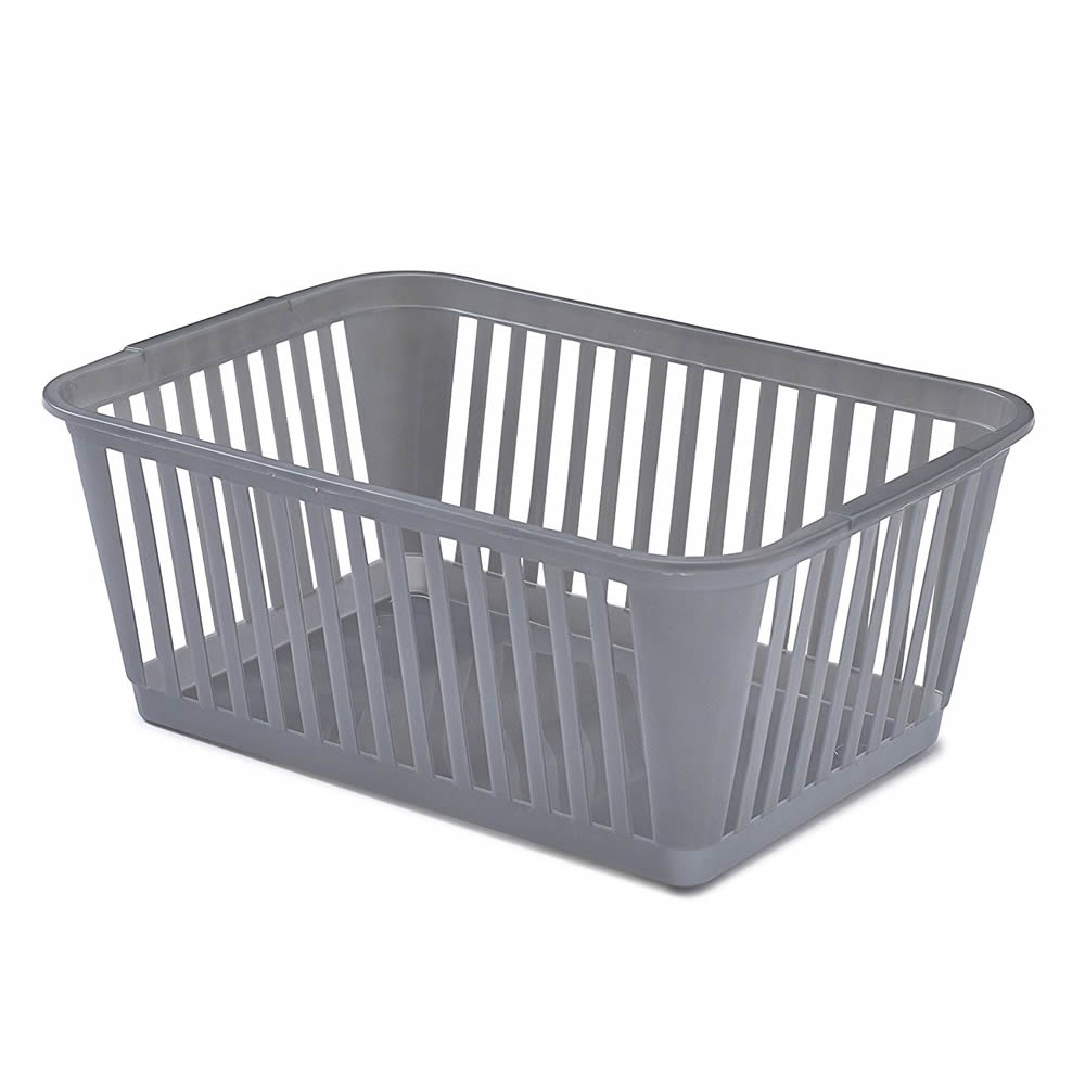 Sentinel Small Large Rectangle Home House Kitchen Office Study Plastic Storage Basket Box