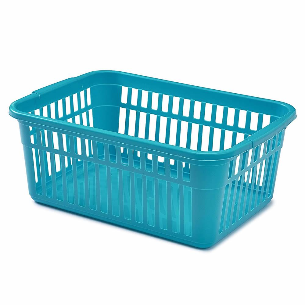Whitefurze Handy Basket 37cm Teal - S03L09T | eBay