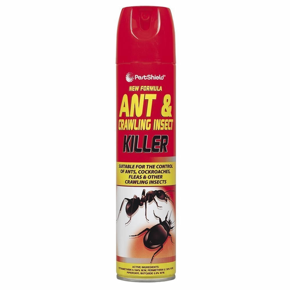 Ant Bug Cockroach Insect Killer Insecticide Fast Acting Spray Aerosol 300ml Ebay