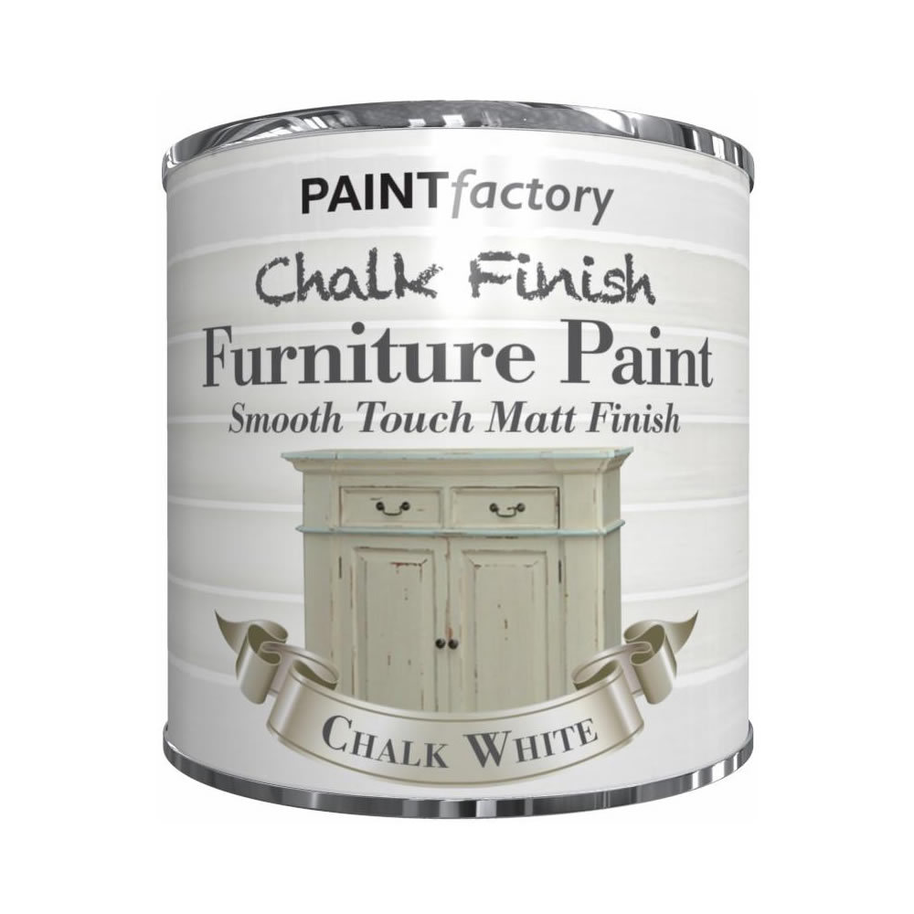 250ml-Chalk-Finish-Paint-Tin-Tub-Smooth-Touch-Matte-Furniture-Vintage-House-Home