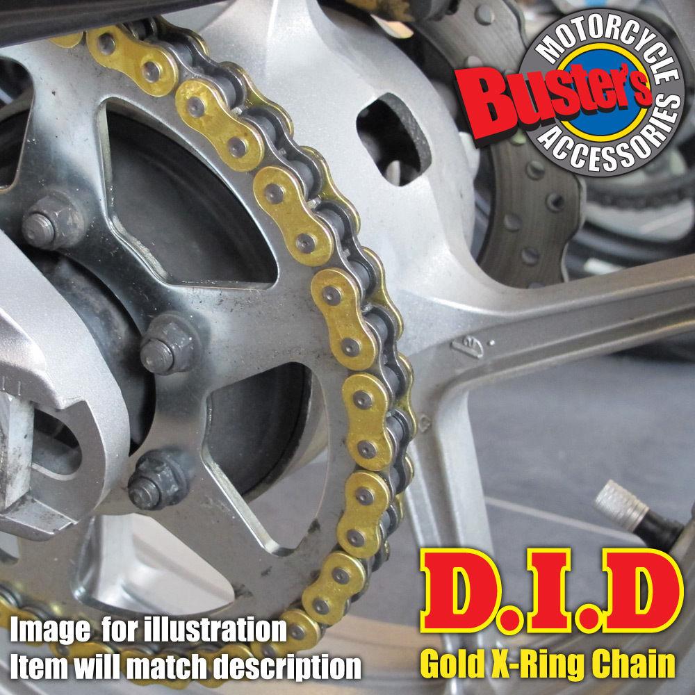 Honda CB500 R S 2003 DID Gold X-Ring Chain 525VX GB x 108