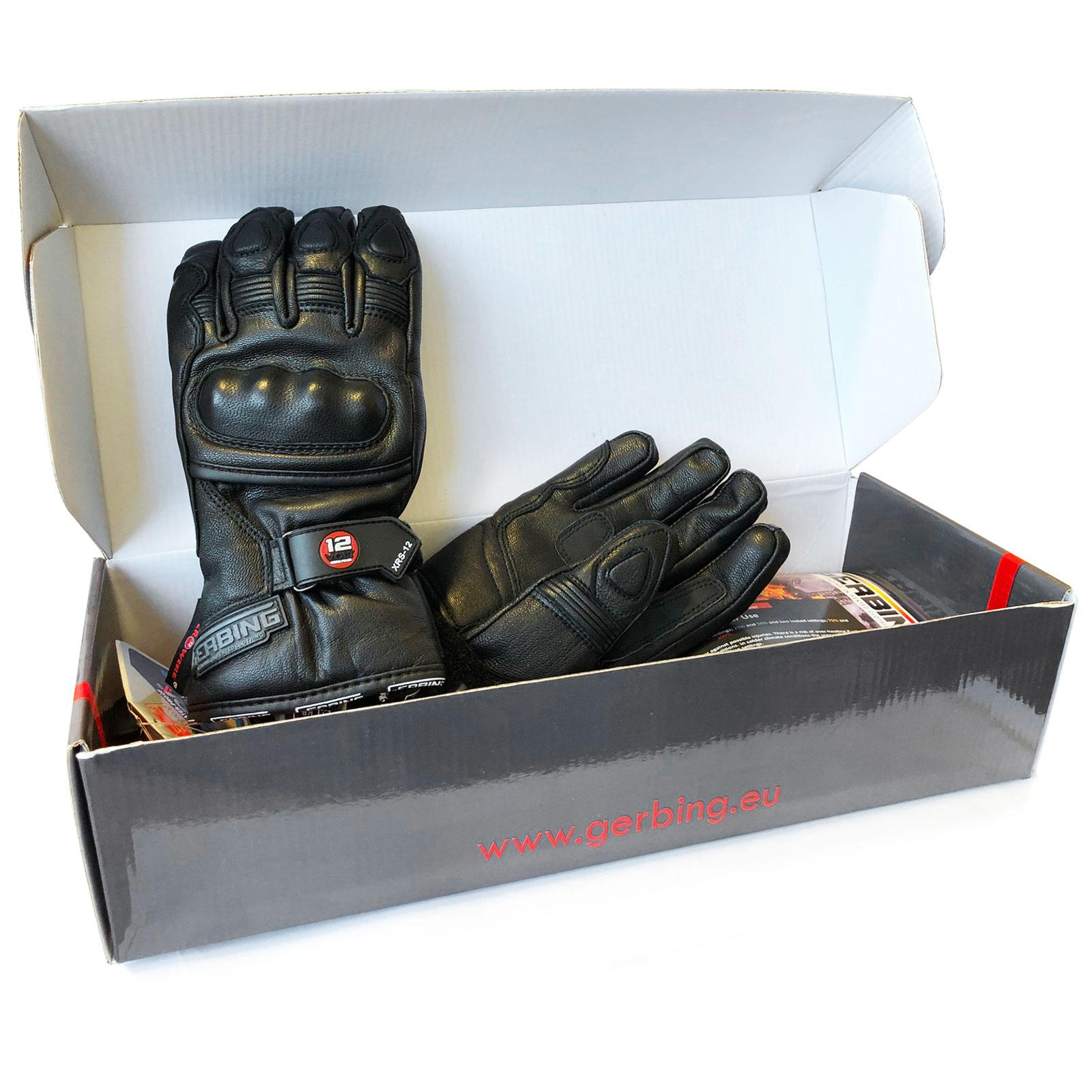 Gerbing Xrs12 Heated Motorcycle Gloves Waterproof Windproof