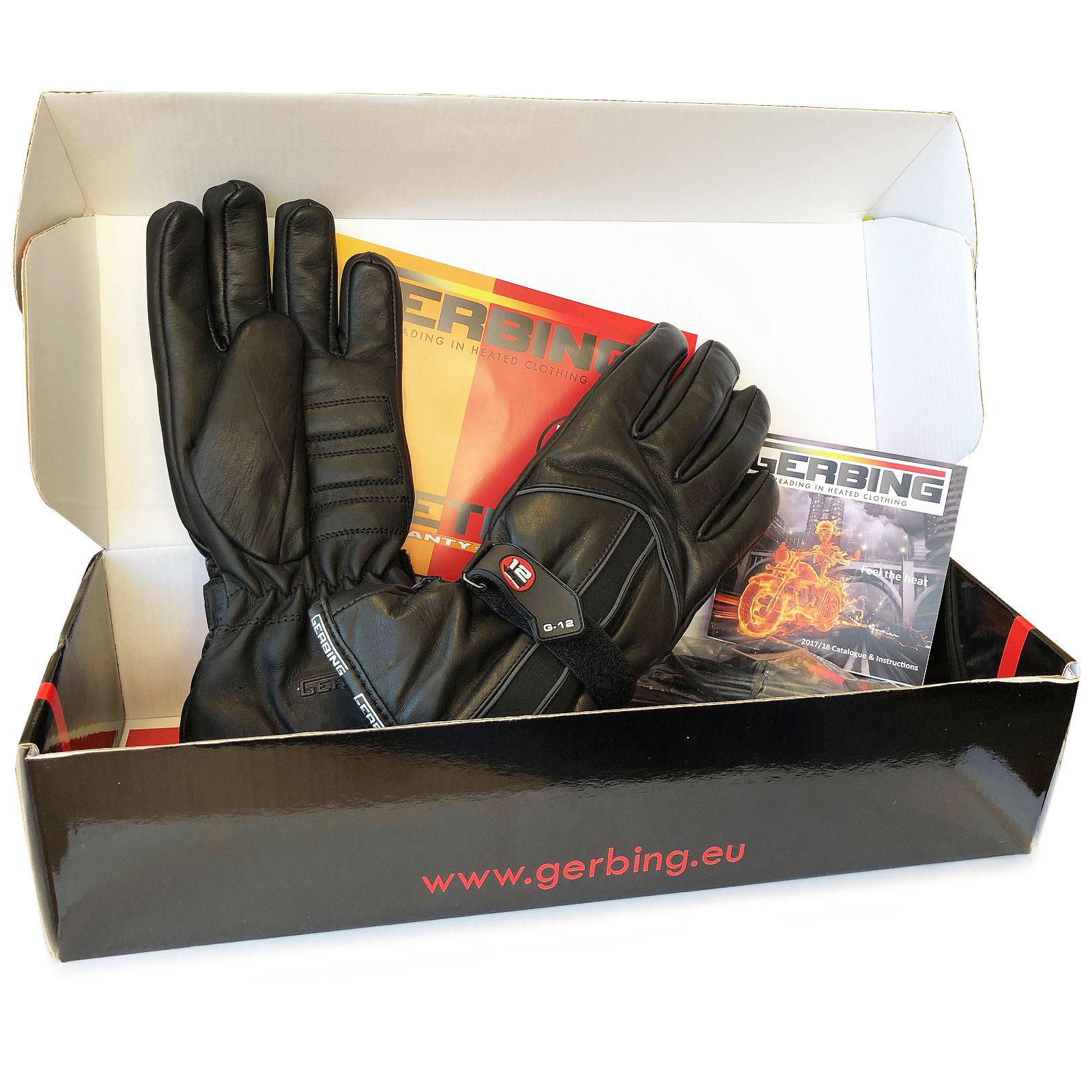 Gerbing G12 Short Heated Motorcycle Gloves Waterproof Windproof