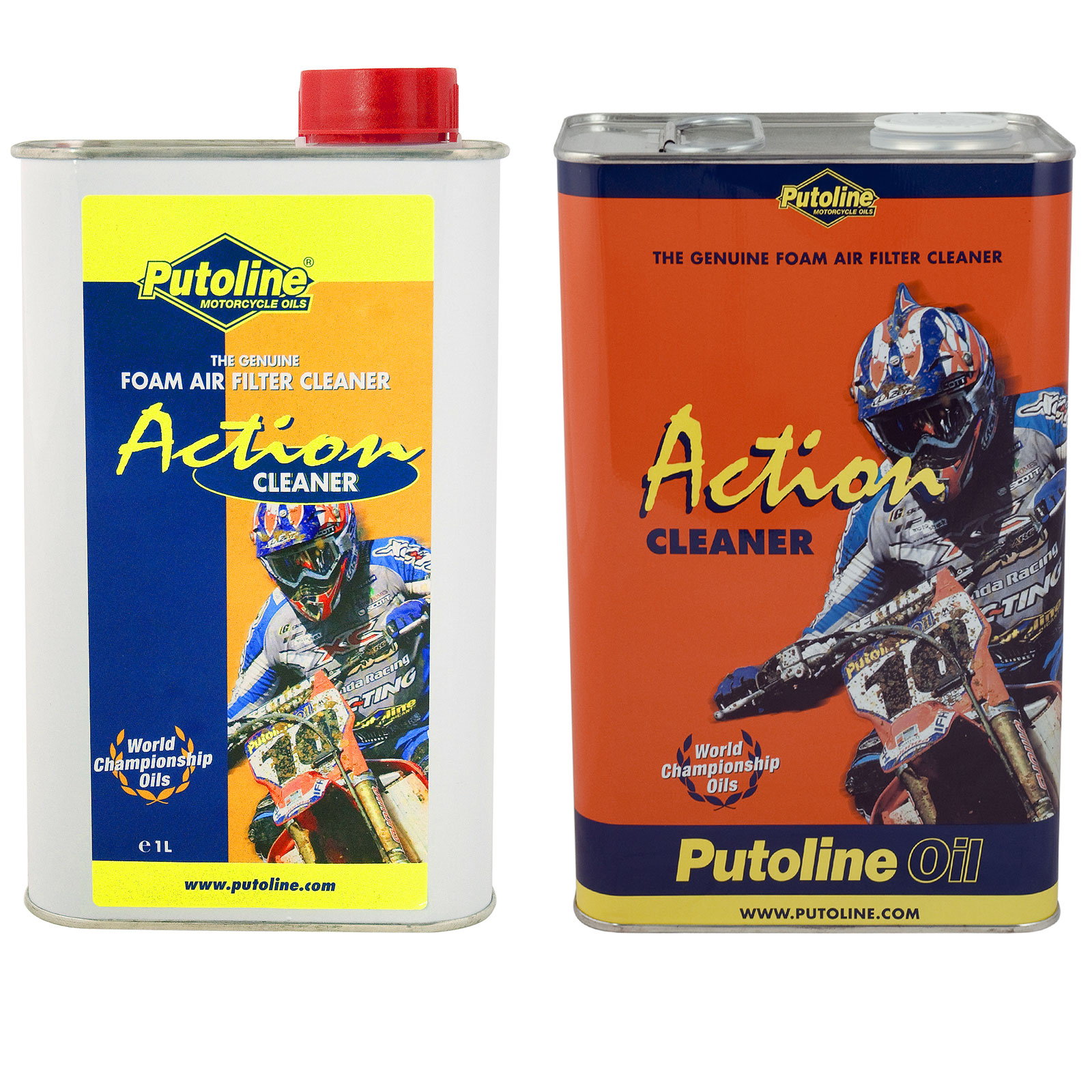 Details about Putoline Action Fluid Motorcycle Foam Air Filter Oil and  Cleaner Twin Pack 1L