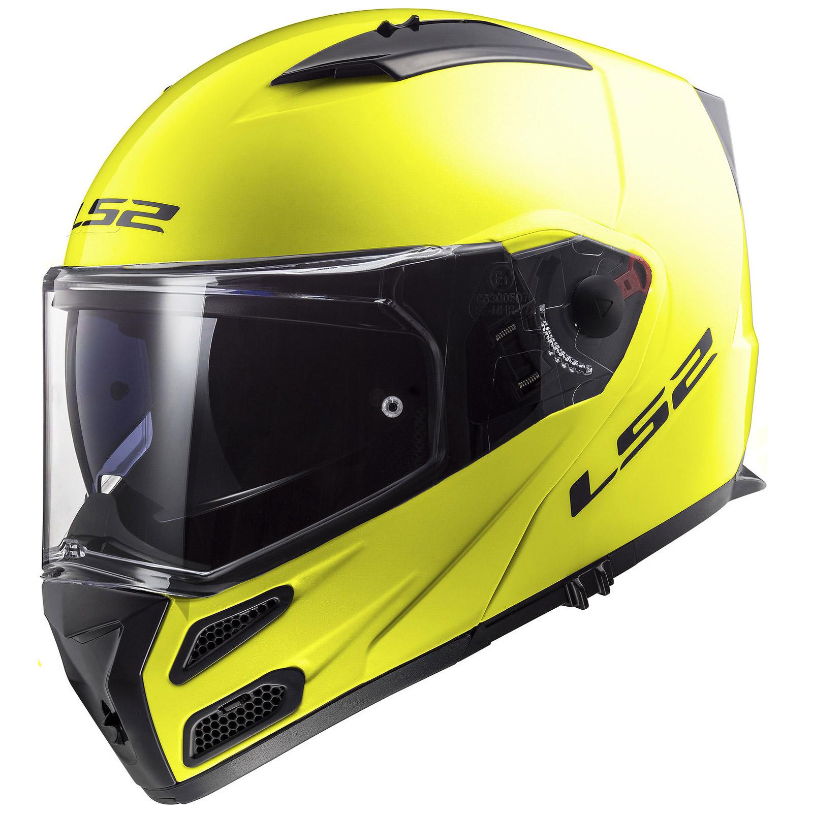 LS2 FF324 Metro Evo Firefly Flip Up Front Crash Helmet Motorcycle Bike