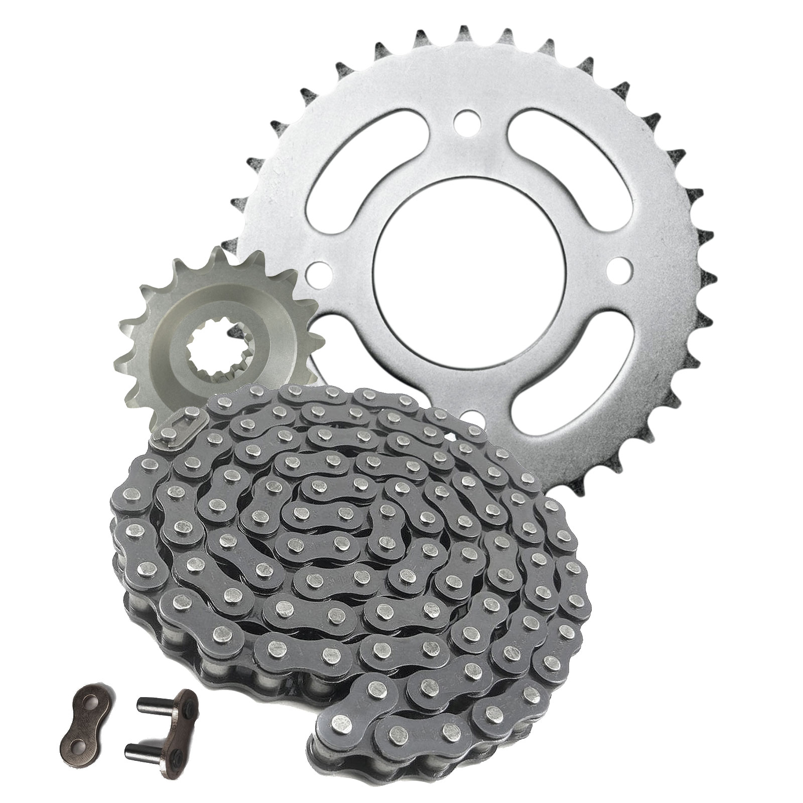 LEXMOTO ADRENALINE 125 Gold DID Chain /& Sprocket Kit **FREE CHAIN LUBE**