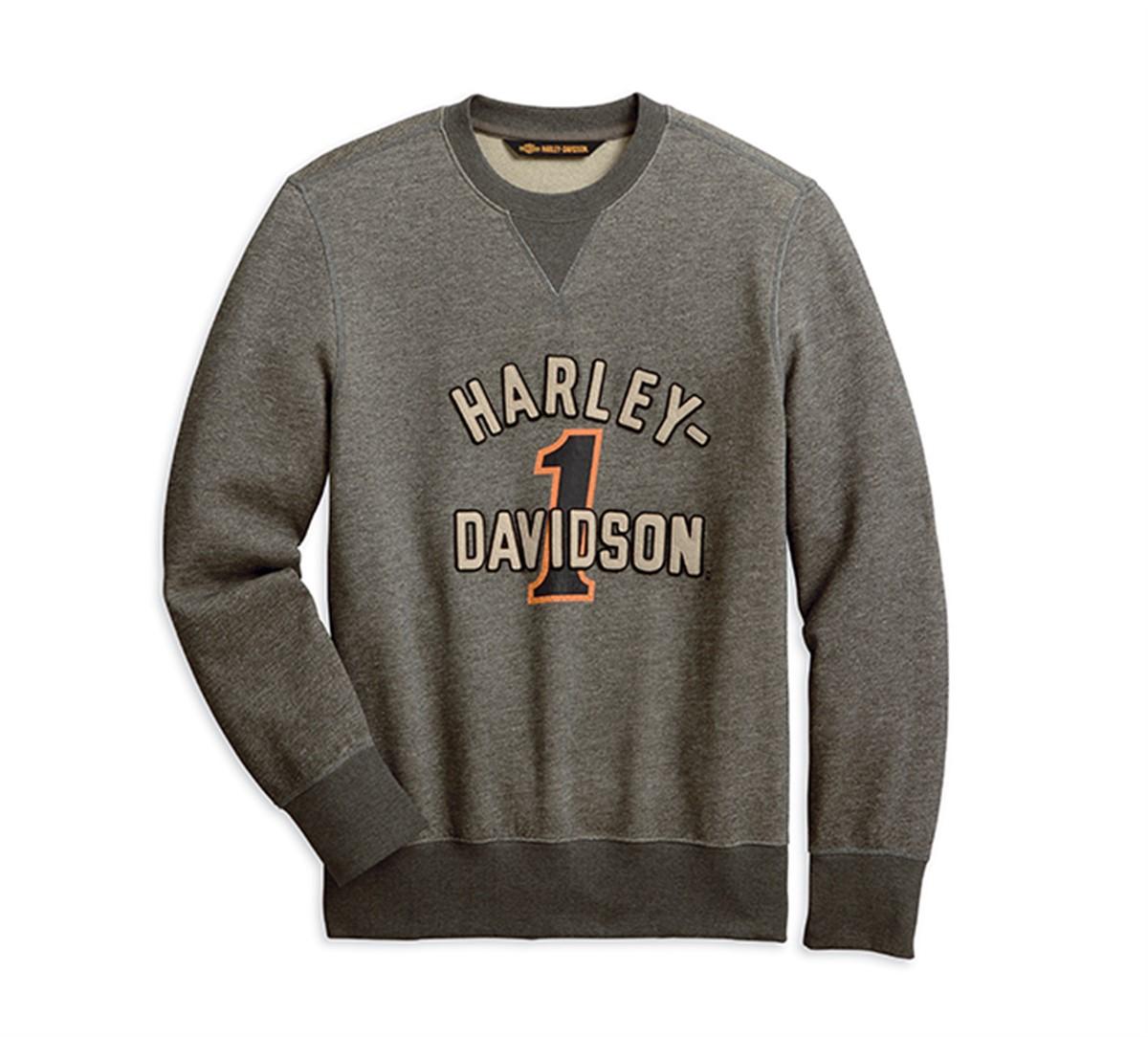 Harley Davidson Mens Old Racer T-Shirt Black Swansea Wales