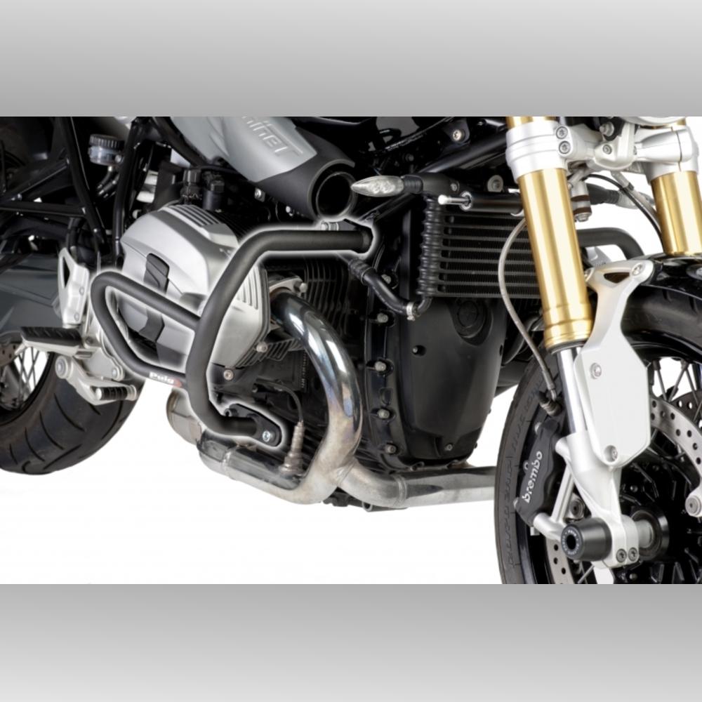 Details About Bmw R Ninet 2014 2019 Puig Engine Crash Bars Black R9t