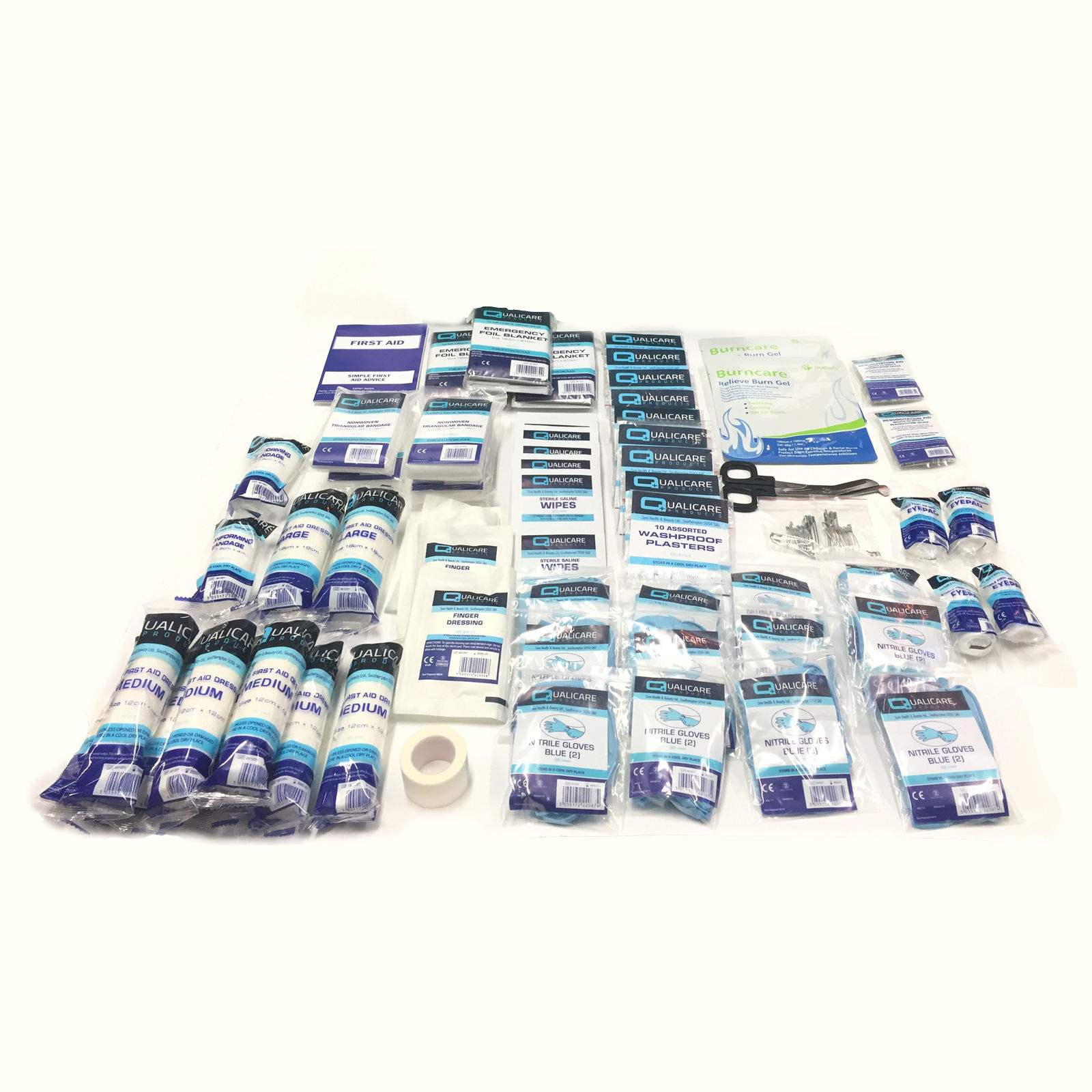 SMALL MEDICAL OFFICE HOME WORKSHOP ESSENTIAL QUALITY BSI FIRST AID KIT REFILL