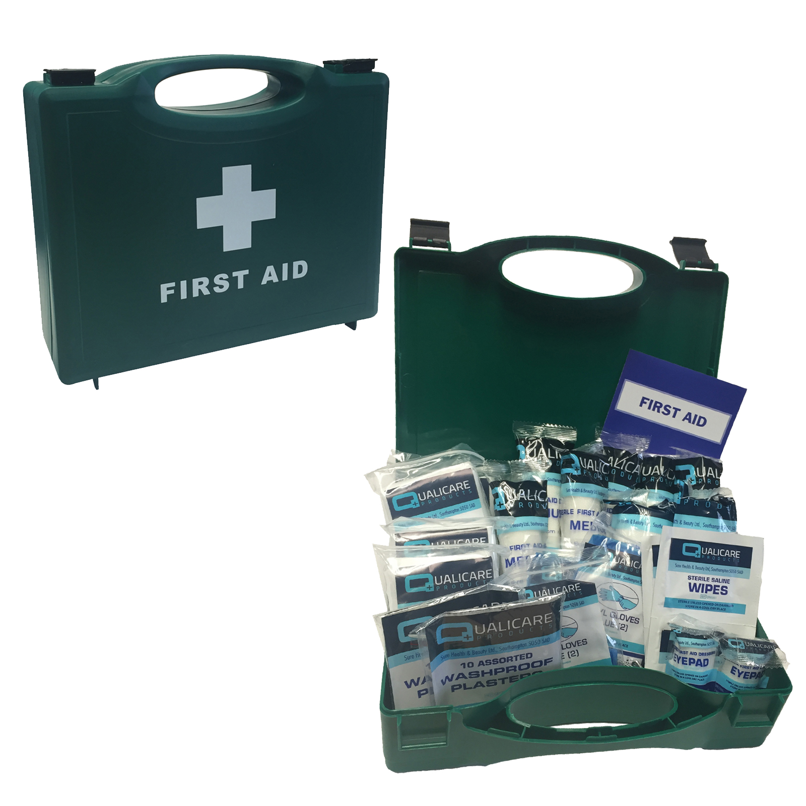 Qualicare pro essential small 1 10 person catering kitchen for First aid kits for restaurant kitchens