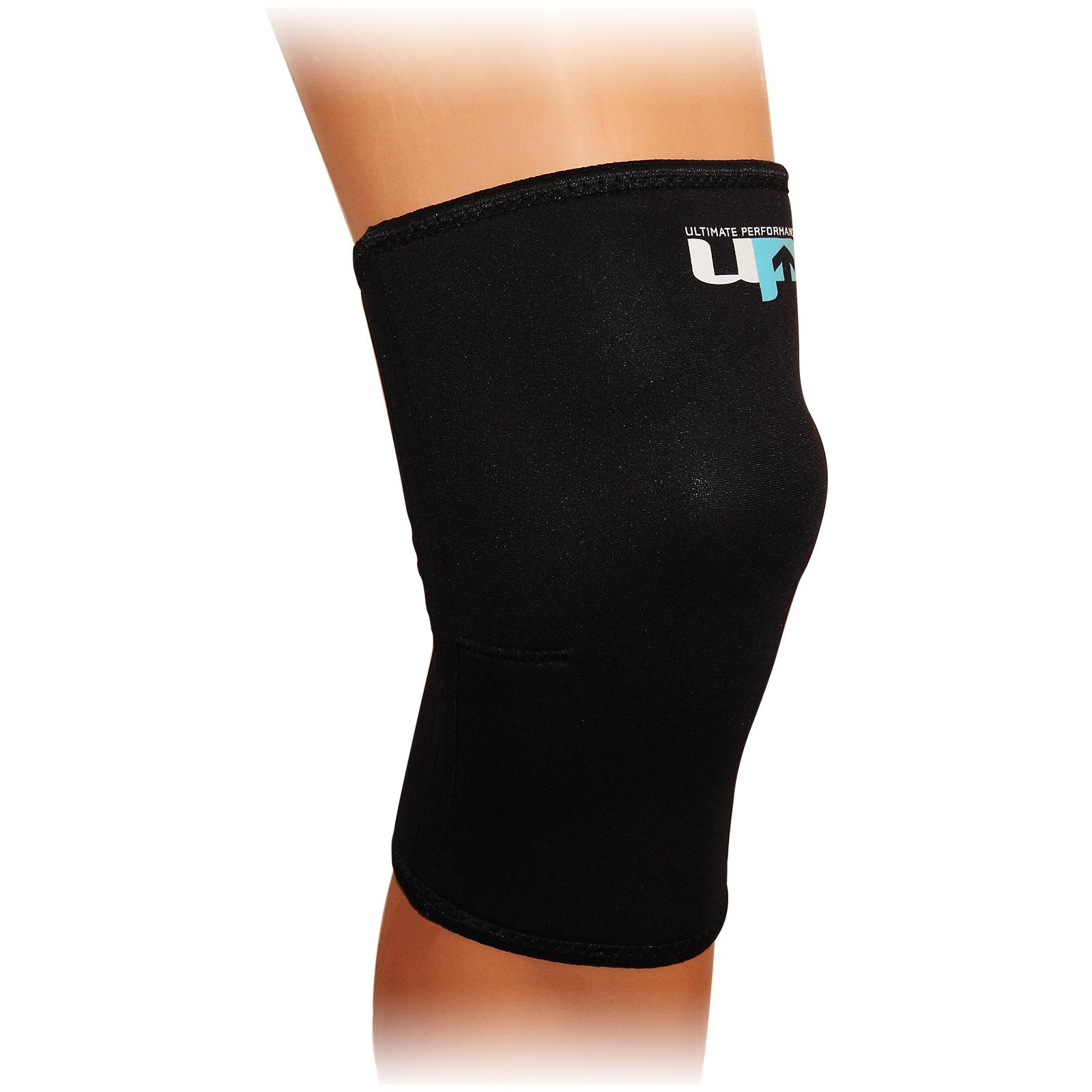 Ultimate Performance Ultimate Unisex Black Compression Elastic Knee Support