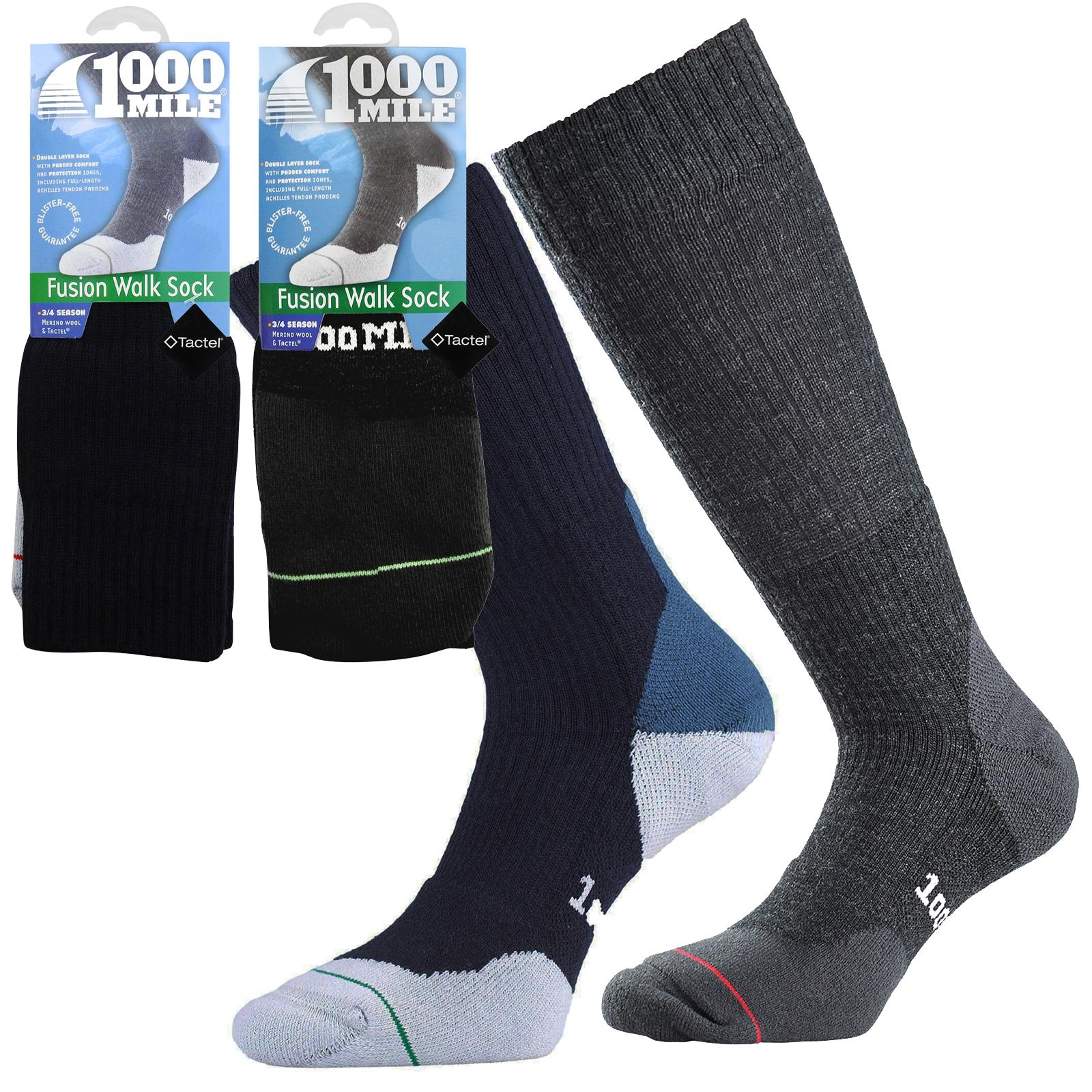 1000 Mile Mens Fusion Merino Walking Sock