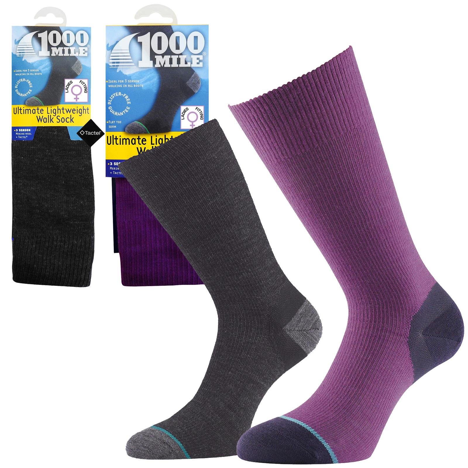 1000 Mile Herren Walking Socken Ultimate Lightweight Walkingsocks