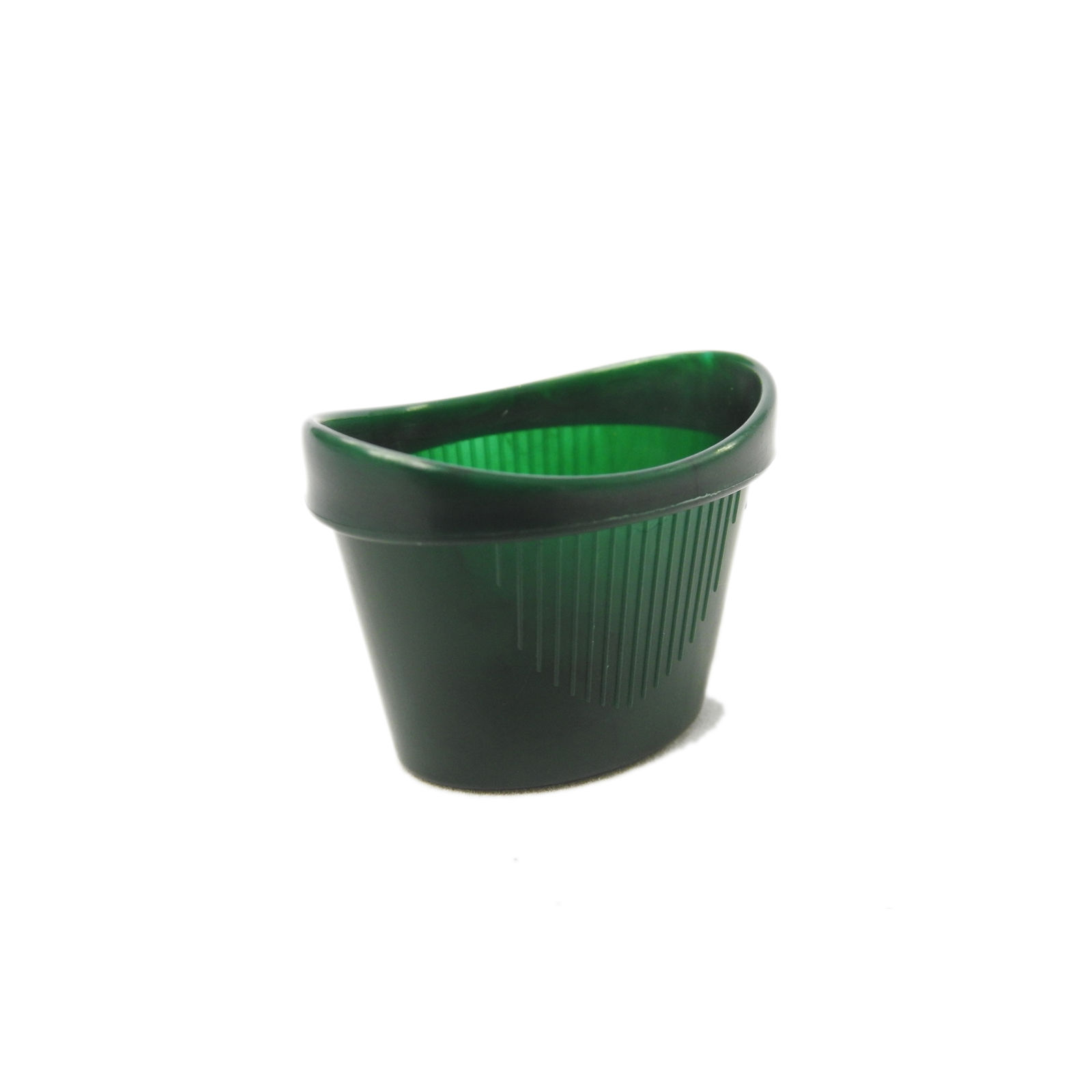 CMS Medical One Size Easy Grip Non Spill Curved Plastic Green Eye ...