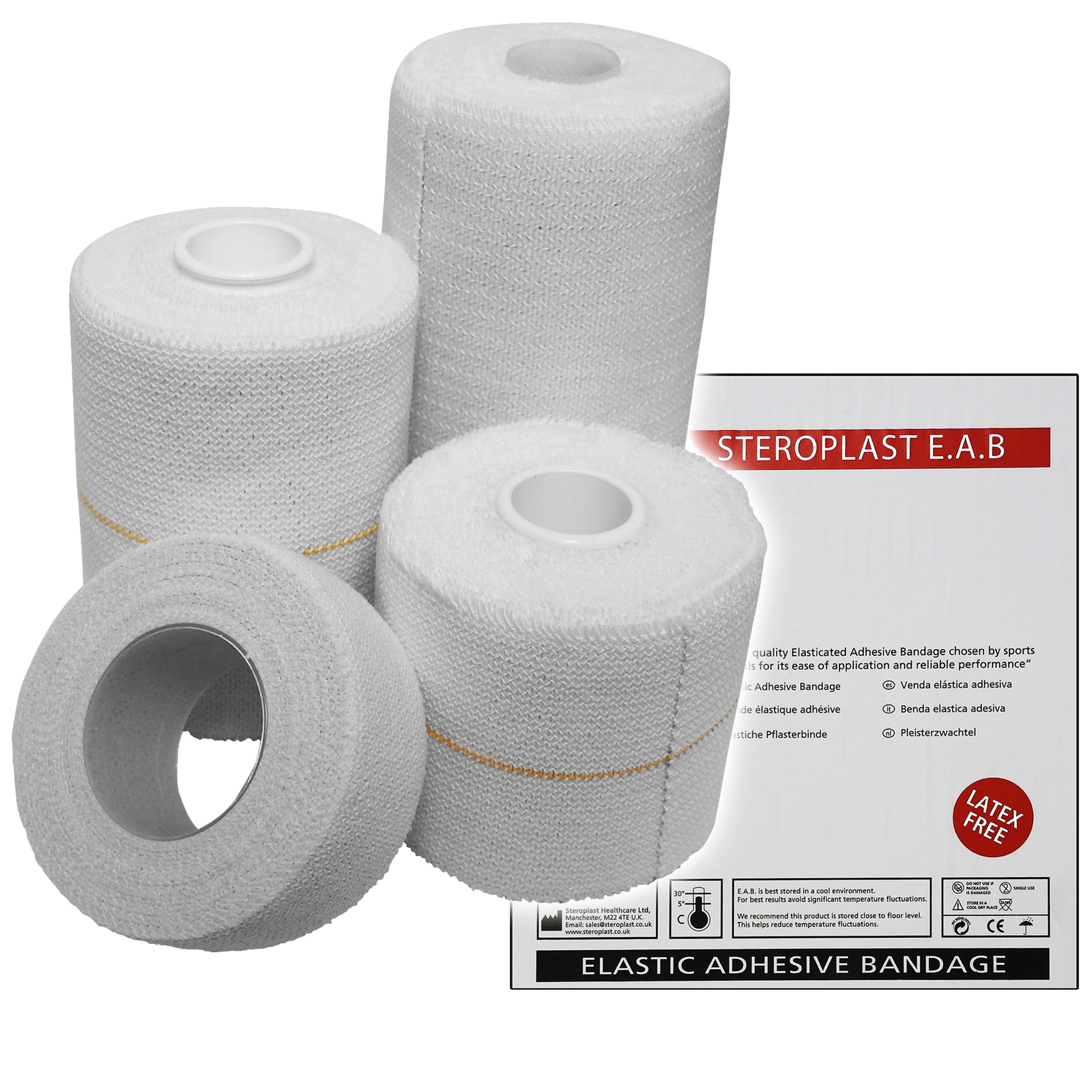 Box Sports Bandage Bandage 2.5 Meters Wrapped Bandage Sports Equipment