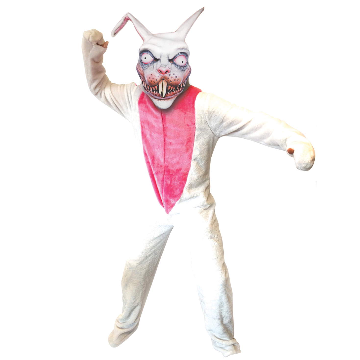 Frankenbunny Fancy Dress Costume Scary Rabbit Outfit Great for ...